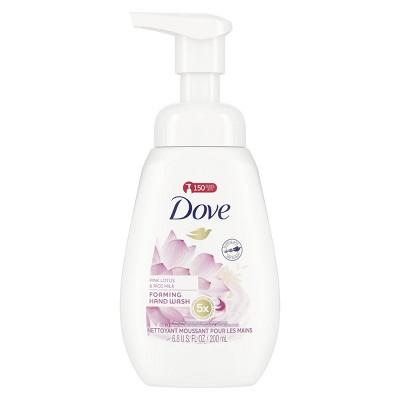 Hand Soap: Dove Foaming