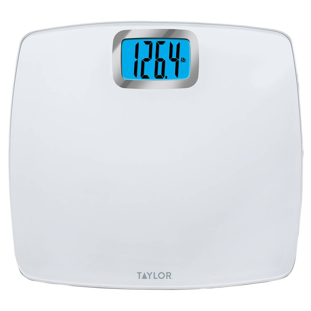Image of Digital Glass Scale White - Taylor