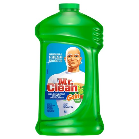 Mr. Clean Multi-Surface Cleaner with Gain Original - 40 fl oz - image 1 of 5