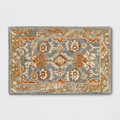 2'X3' Floral Tufted Accent Rugs Yellow - Threshold™