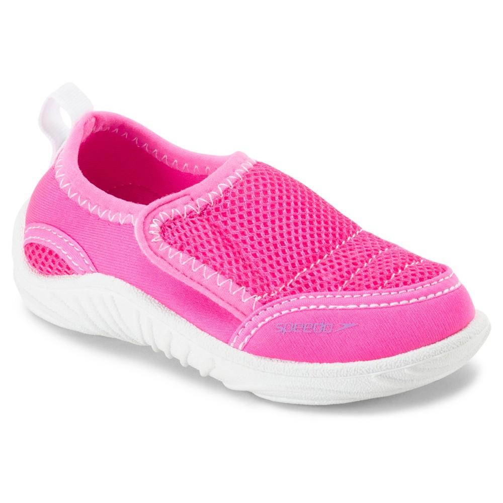 Speedo Toddler Kids Surfwalker - Pink (Large), Toddler Girl's