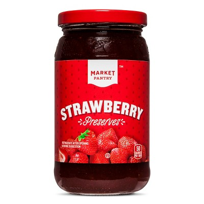 Strawberry Preserves - 18oz - Market Pantry™