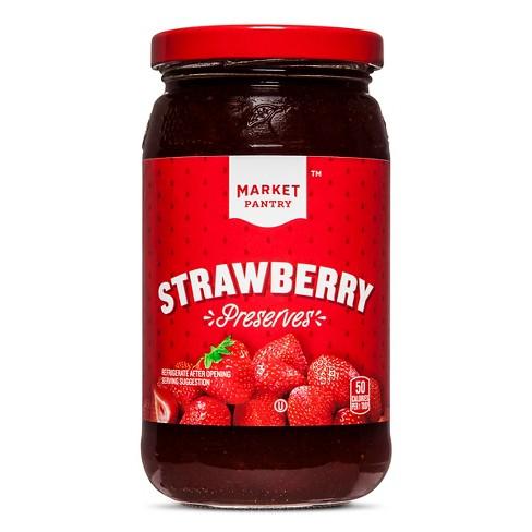Strawberry Preserves - 18oz - Market Pantry™ - image 1 of 2