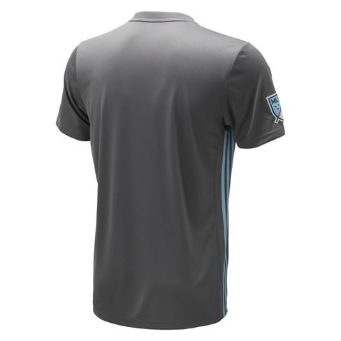 51f01987f Men s Minnesota United Adidas Soccer Jersey   Target