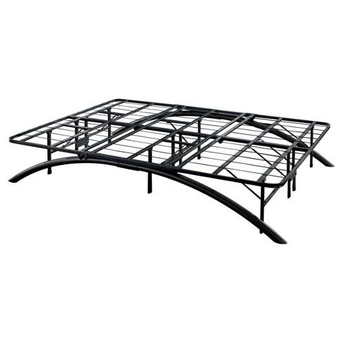 Arch Support Metal Platform Bed Frame Black - Eco Dream : Target