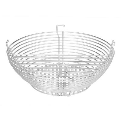 Kamado Joe BJ-MCC24 Stainless Steel Charcoal Basket Attachment for Big Joe I, II, III, & Pro Joe