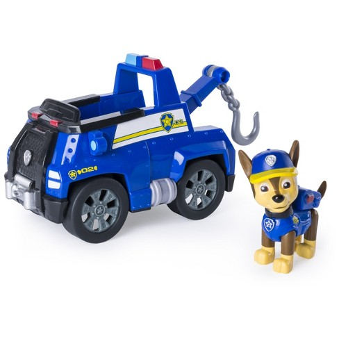 Paw Patrol - Chase's Tow Truck - Figure and Vehicle - image 1 of 3