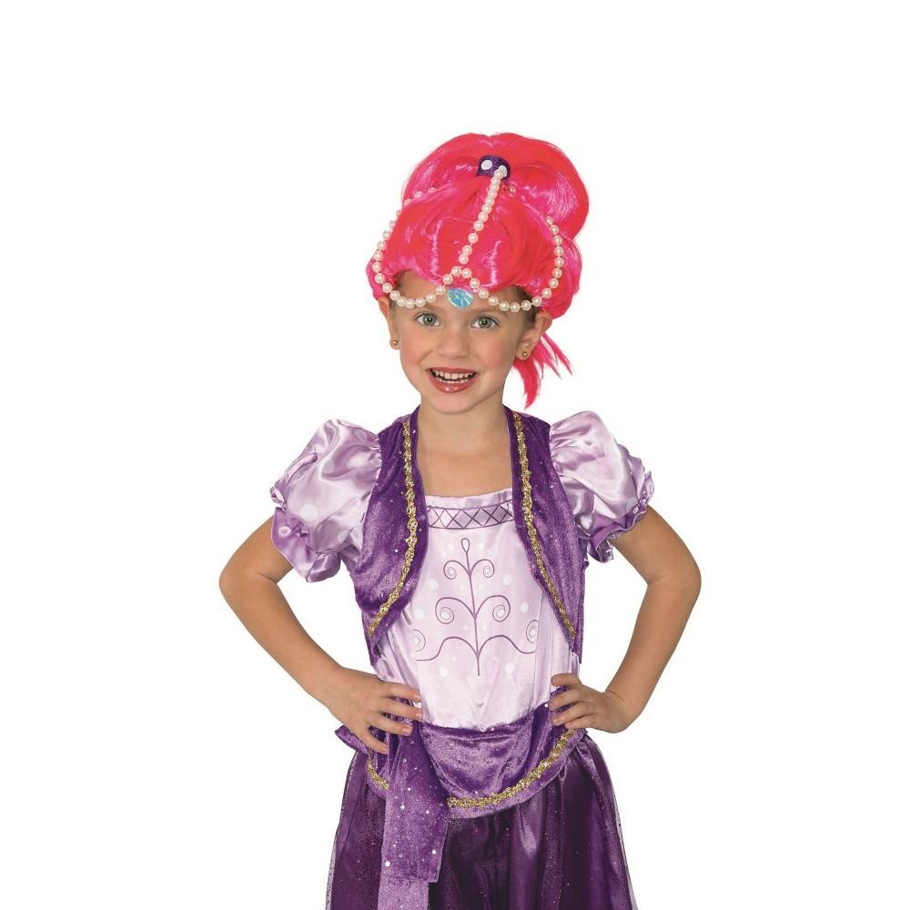 Image of Halloween Girls' Shimmer and Shine Shine Costume Wig, Girl's
