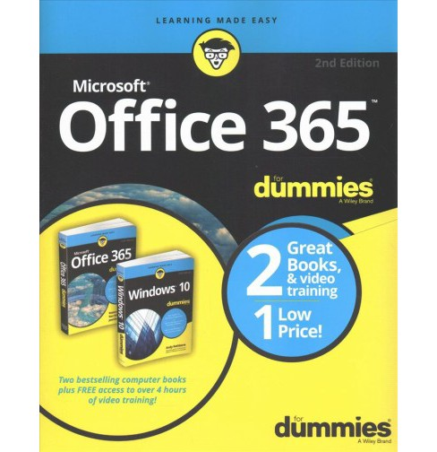 Windows 10 For Dummies Microsoft Office 365 For Dummies Paperback