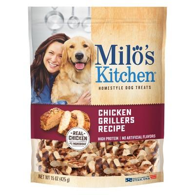Milo's Chicken Grillers Dog Treats - 15oz