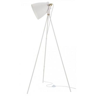 "57"" Industrial Adjustable Tripod Spotlight Floor Lamp - Nourison"