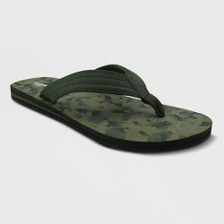 Men's Ryan Flip Flop Sandals - Goodfellow & Co™ Olive