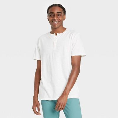 Men's Short Sleeve Henley T-Shirt - Goodfellow & Co™