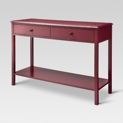 Windham Console Table Red - Threshold™