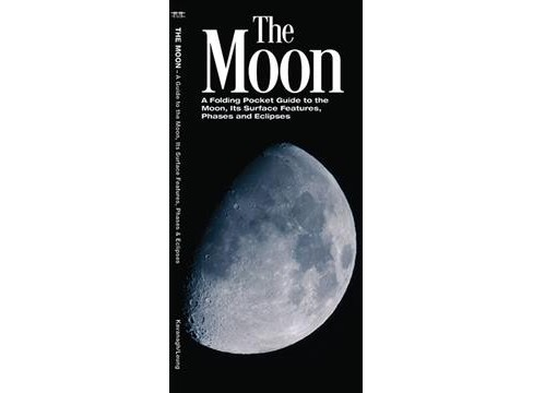 Moon : A Folding Pocket Guide to the Moon, Its Surface Features, Phases and Eclipses (Paperback) (James - image 1 of 1