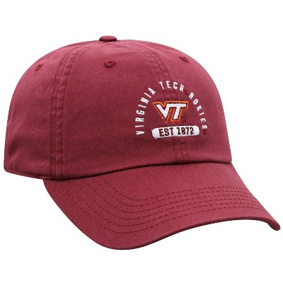 NCAA Virginia Tech Hokies Men's Garment Washed Relaxed Fit Hat