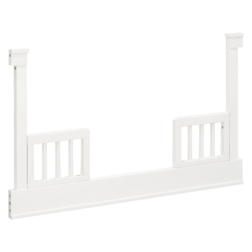 Million Dollar Baby Toddler Bed Conversion Kit for Tanner - Warm White