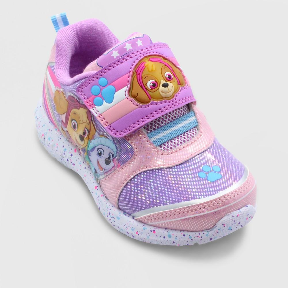 Toddler Girls' Paw Everest Patrol Athletic Low top Sneakers - Purple 12