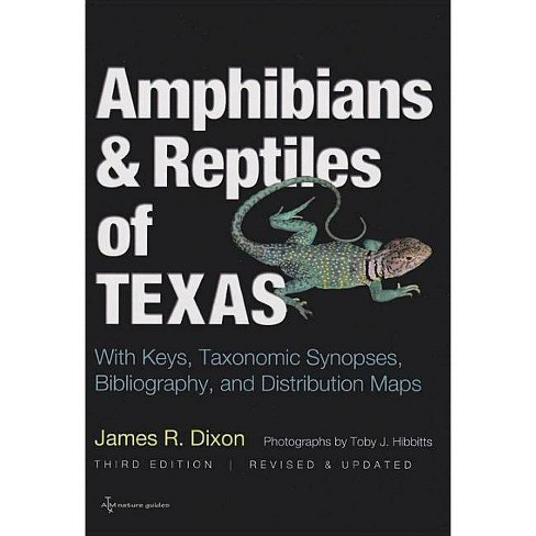 Amphibians and Reptiles of Texas - (W. L. Moody, Jr., Natural History (Paperback)) 3 Edition (Paperback) - image 1 of 1