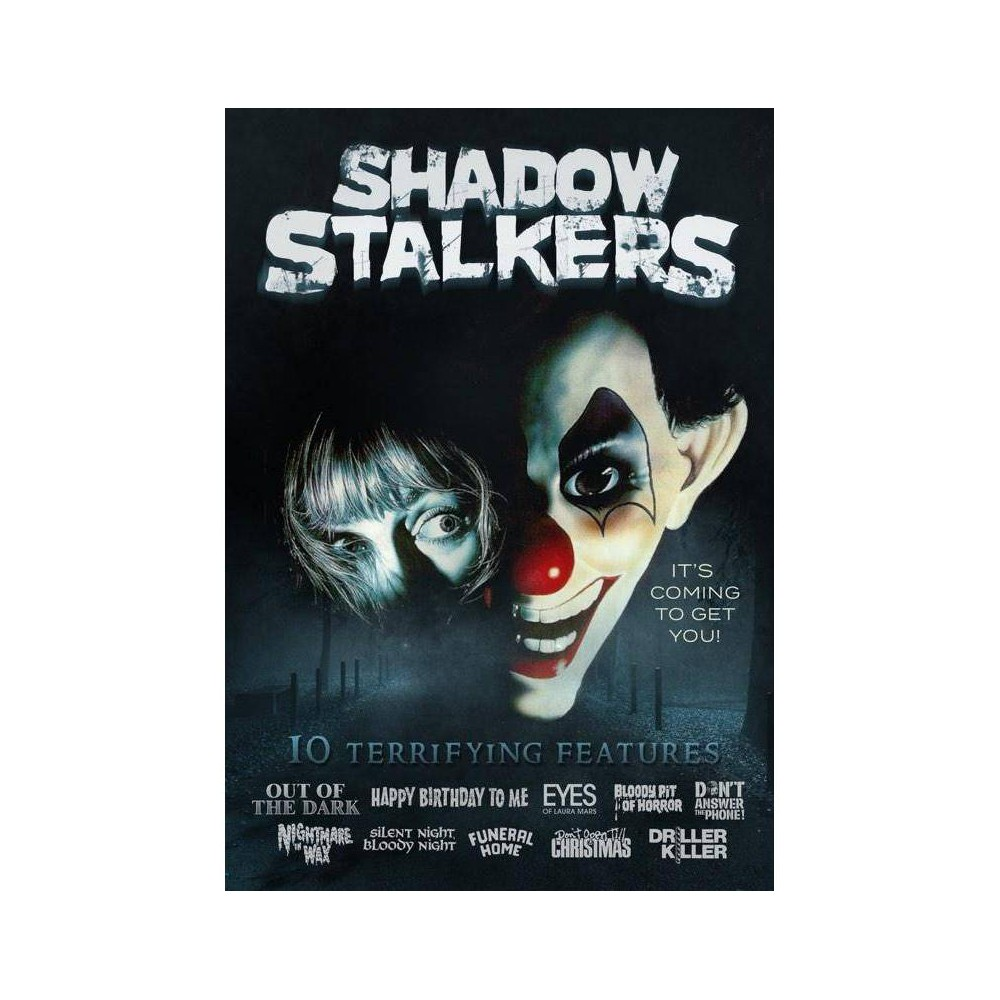 Shadow Stalkers: 10-Film Collection (DVD) was $13.39 now $7.79 (42.0% off)