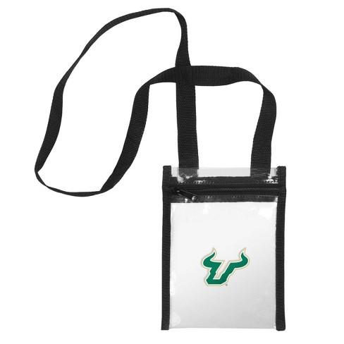 Ncaa South Florida Bulls Clear Crossbody Messenger Bag