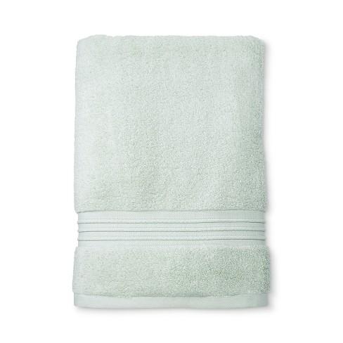Microcotton Spa Bath Towel Mint - Fieldcrest® - image 1 of 1