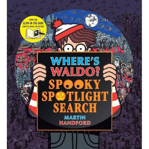Where's Waldo? Spooky Spotlight Search - by  Martin Handford (Hardcover) - image 1 of 1