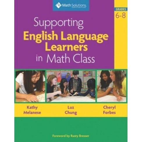 Supporting English Language Learners in Math Class, Grades 6-8 - (Paperback) - image 1 of 1