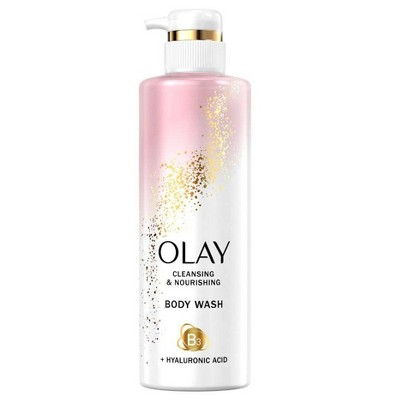 Olay Nourishing Body Wash with Vitamin B3 and Hyaluronic Acid - 17.9 fl oz