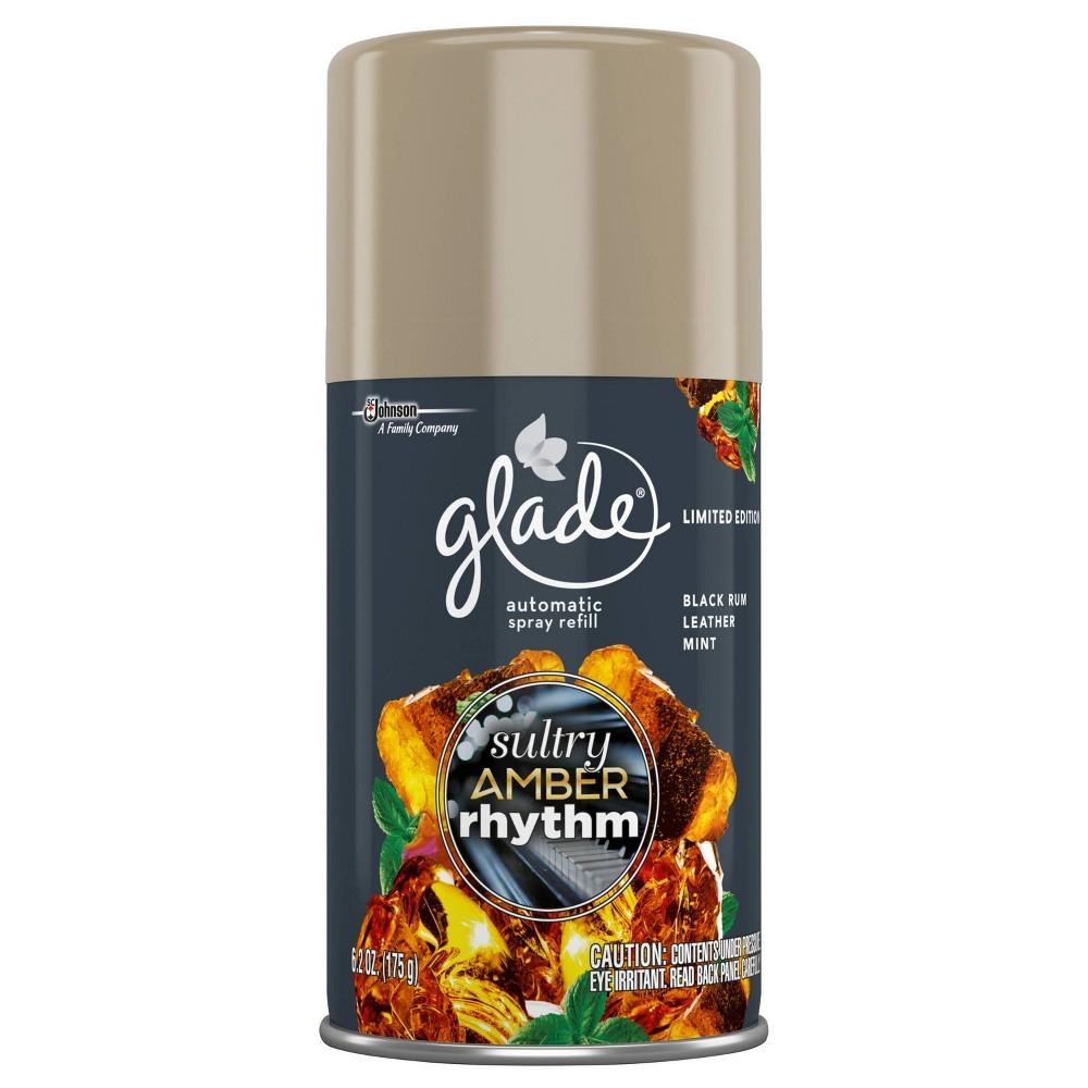 Glade Sultry Amber Rhythm Automatic Spray Refill - 6.2oz, White