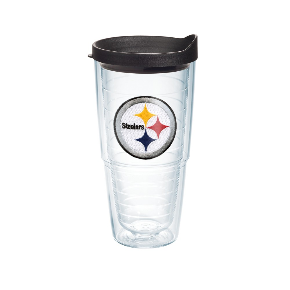 Pittsburgh Steelers 24oz Patch Tumbler
