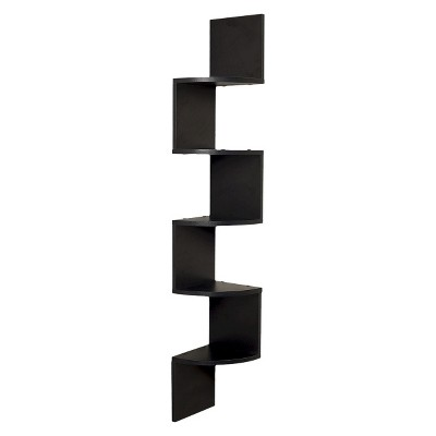 Large Corner Shelf - Black - Danya B.