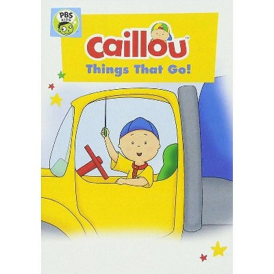 Caillou: Things That Go (DVD)(2017)
