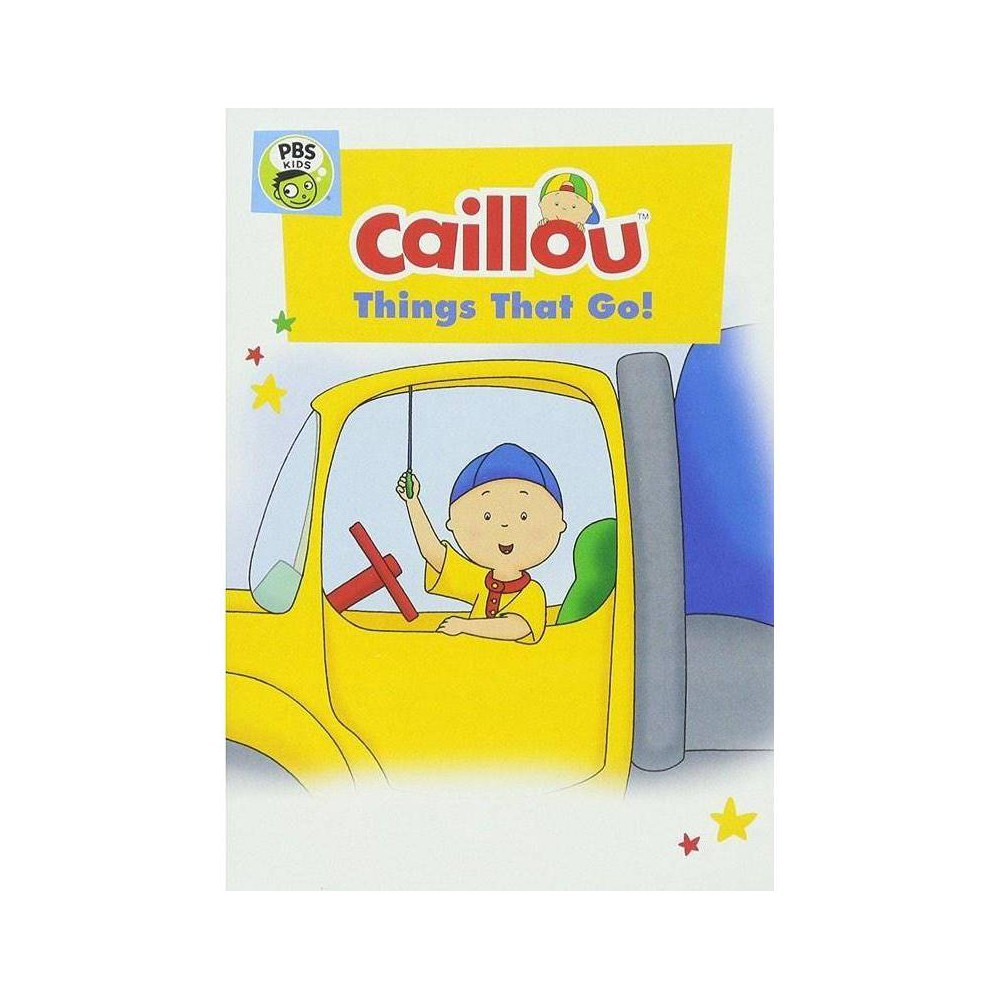 Caillou Things That Go Dvd 2017