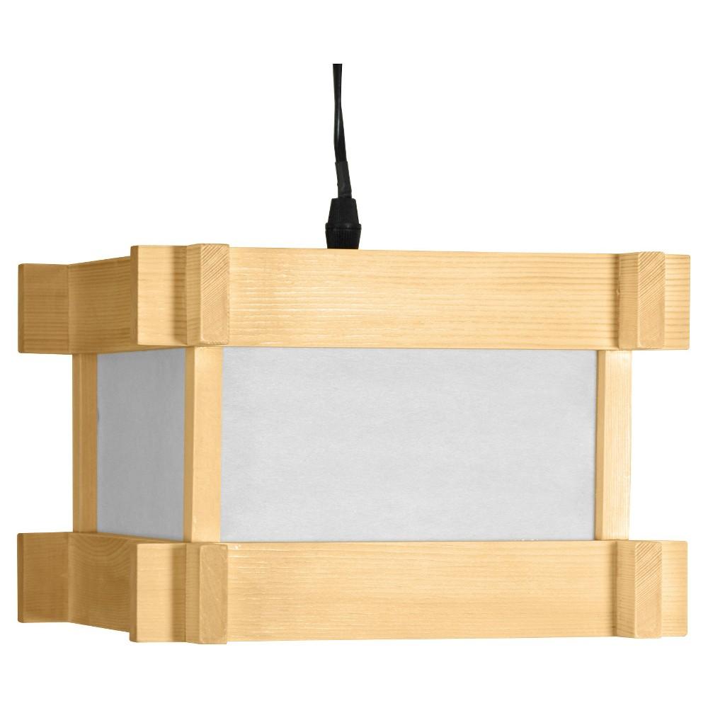Image of Domo Japanese Hanging Lantern - Neutral (6.25)