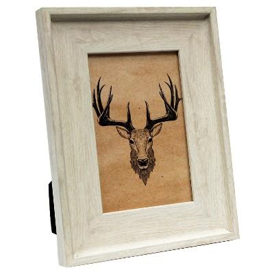 4 x6  Ivory Wood Tone Frame