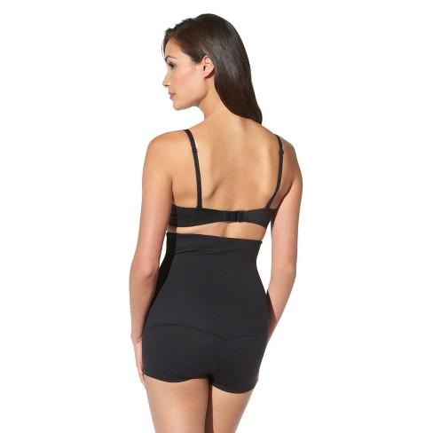 a99ea5ba7 Maidenform® Self Expressions® Women s Suddenly Skinny! Hi-Waist Boyshorts  850 - Black M   Target