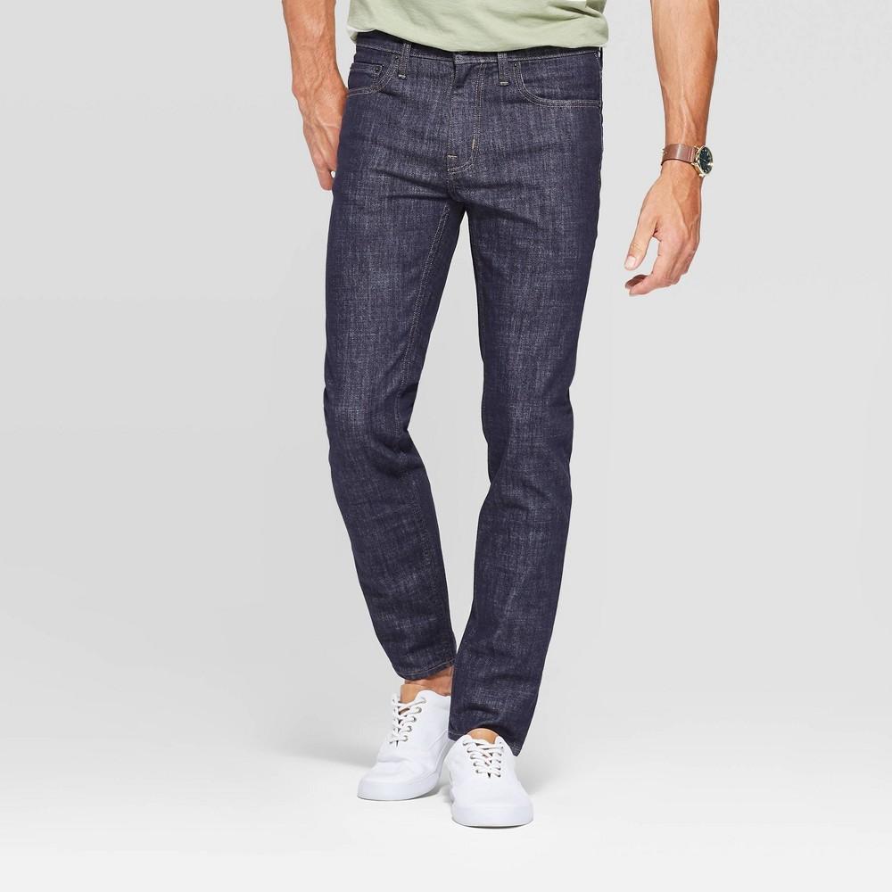 Best Discount Men 32 Skinny Fit Jeans Goodfellow Co Blue 36x32