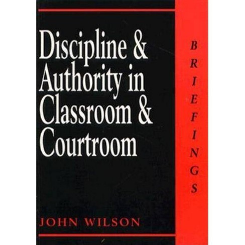Discipline and Authority in CL - (Briefings) by  John Wilson (Paperback) - image 1 of 1