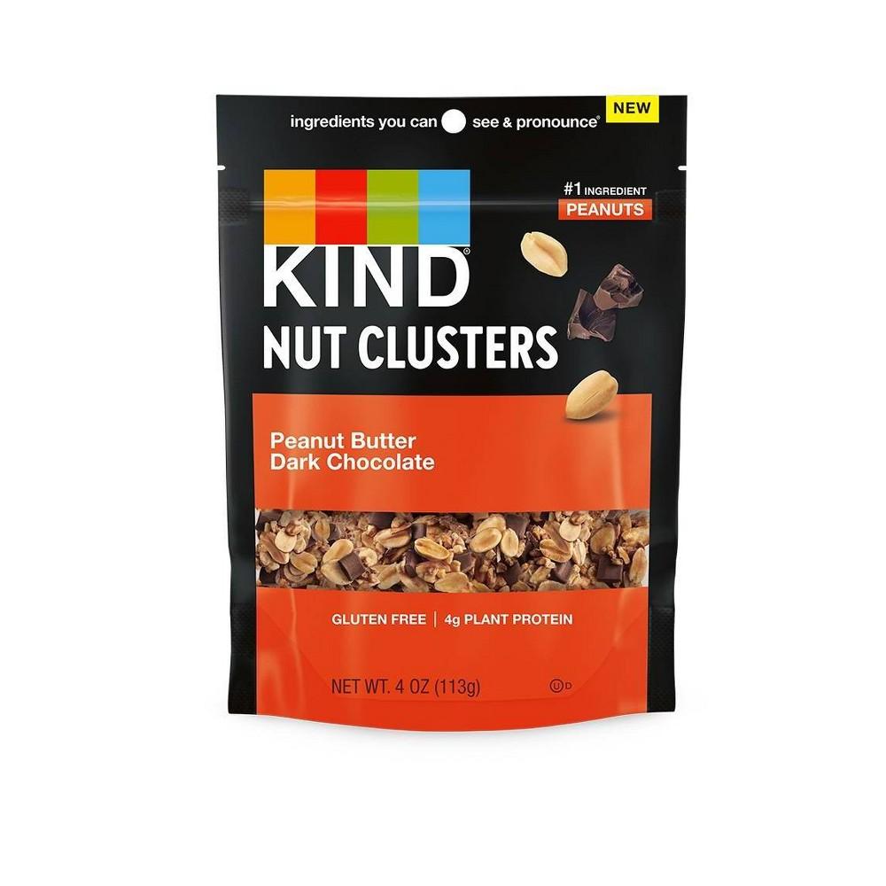 Kind Nut Clusters Peanut Butter Dark Chocolate 4oz