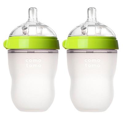 Comotomo Silicone Bottle - 2pk/8oz Each