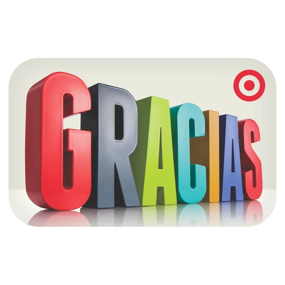 3D Gracias Target Giftcard 3D Gracias Target Giftcard