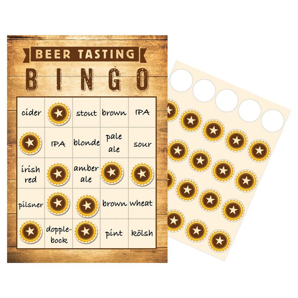 Image of 10ct Cheers & Beers Pub Crawl Bingo
