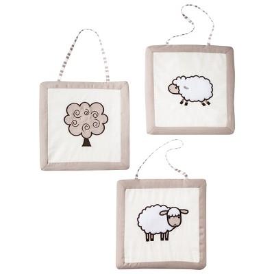 Sweet Jojo Designs Lamb Wall Hangings