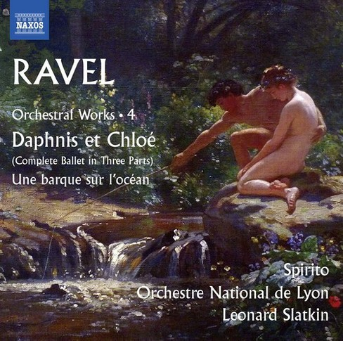 Lyon National Orches - Ravel:Orchestral Works Vol 4 (CD) - image 1 of 1