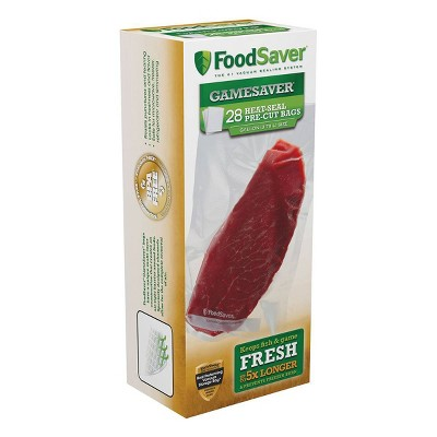 FoodSaver Gamesaver 28ct Vacuum Sealer Bags