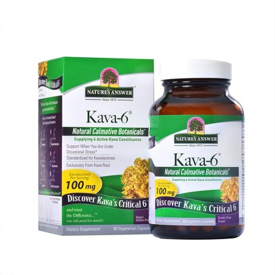 Nature's Answer Nature's Answer Kava-6 Caps 90 ct