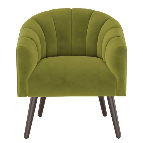 Modern Barrel Chair in Velvet - Project 62™ - image 1 of 6