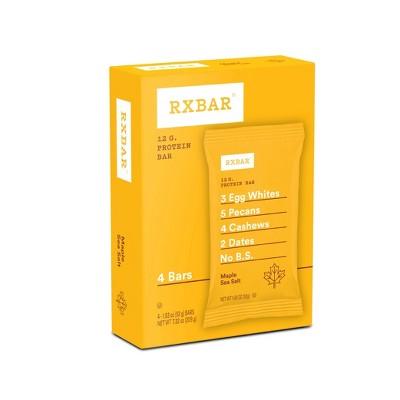 RXBAR Maple Sea Salt Protein Bars - 4ct