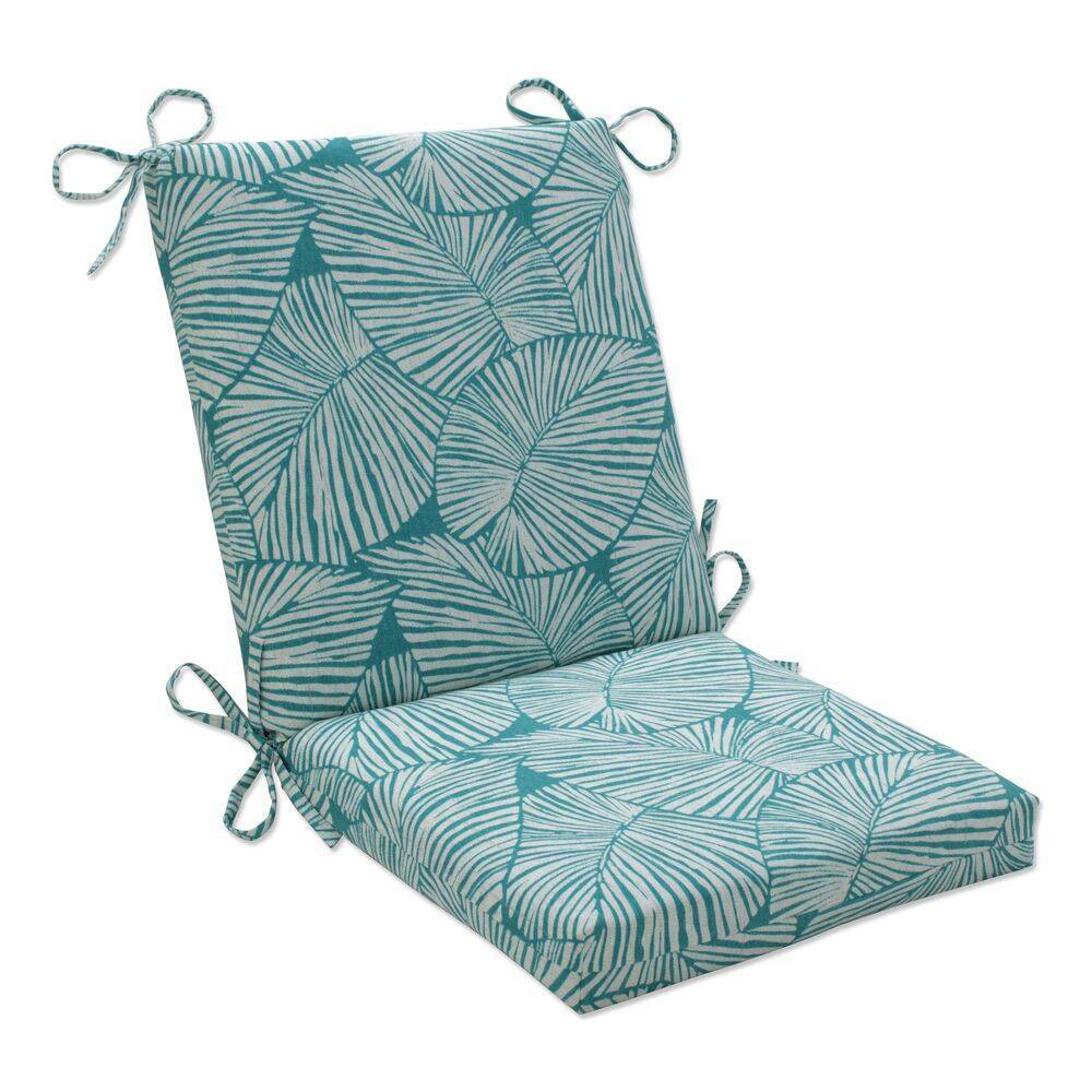 18 34 X 18 34 Outdoor Indoor Squared Chair Pad Talia Seaglass Green Pillow Perfect